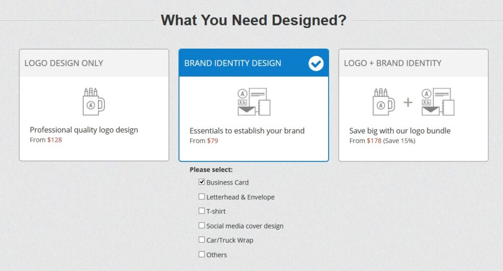 48hourslogo brand identity contest option