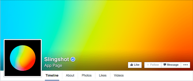 different social media cover design with interesting gradients
