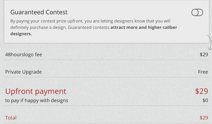 guaranteed contest