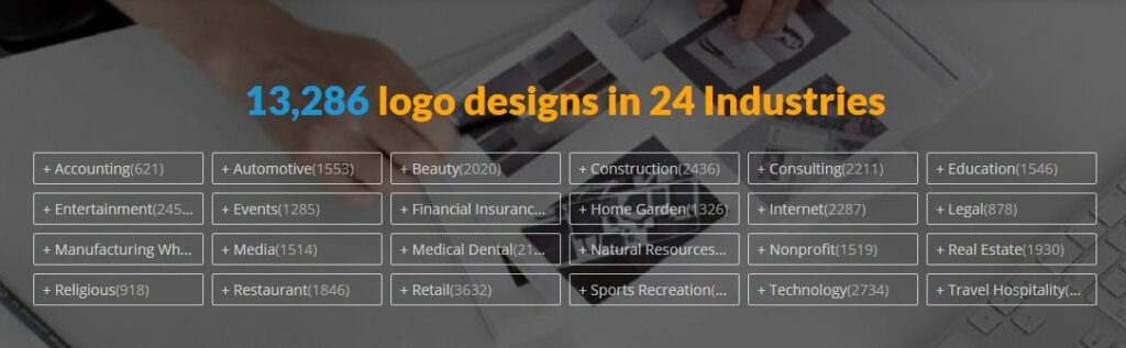 logo design by industry