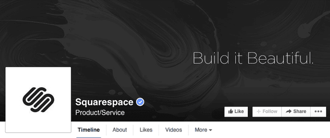simple facebook cover design with call to action
